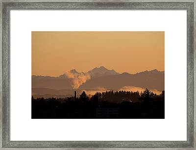Morning View Framed Print by Evgeny Vasenev