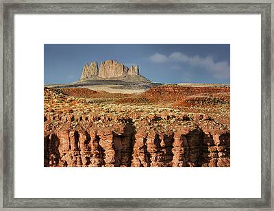 Framed Print featuring the photograph Morning View by Nikolyn McDonald