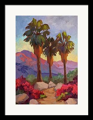 Fan Palm Framed Prints