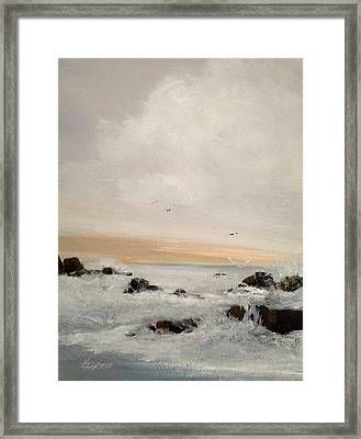 Morning Walk Framed Print
