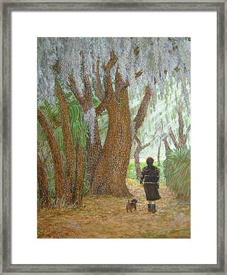 Morning Walk Framed Print by Jim Soldo