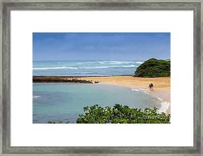 Morning Walk Framed Print by Jon Burch Photography
