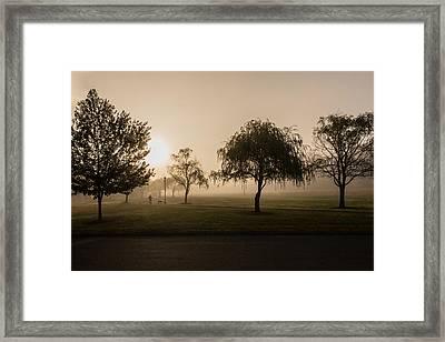 Morning Walk Framed Print