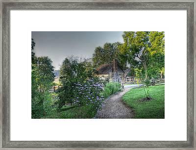Morning Walk Framed Print by Todd Hostetter