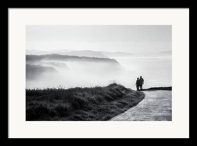 Walk Paths Framed Prints