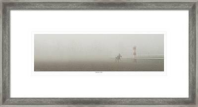 Morning Work Framed Print by Robert Bunting