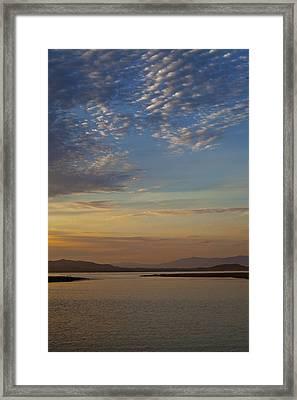 Morning's Colors Framed Print by Richard Stephen