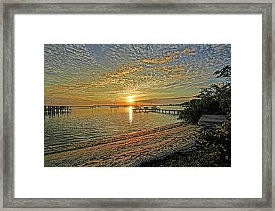 Mornings Embrace Framed Print by HH Photography of Florida