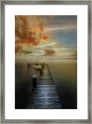 Mornings First Light Framed Print