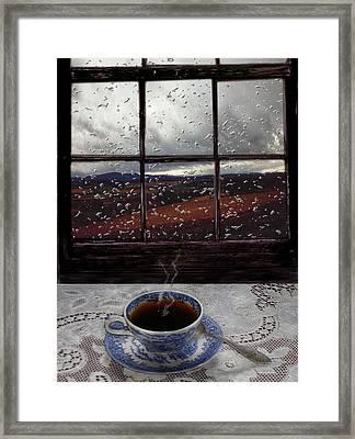 Mornings Promise Framed Print by Evelynn Eighmey