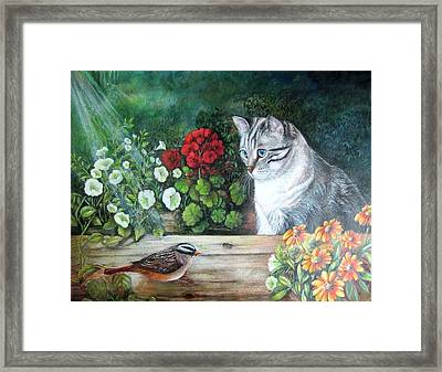 Morningsurprise Framed Print by Patricia Schneider Mitchell