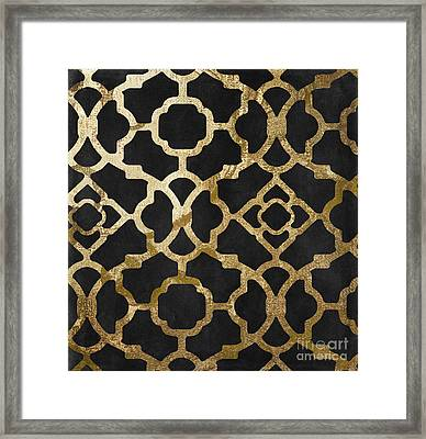 Moroccan Gold IIi Framed Print by Mindy Sommers