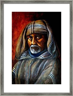 Moroccan Man Framed Print