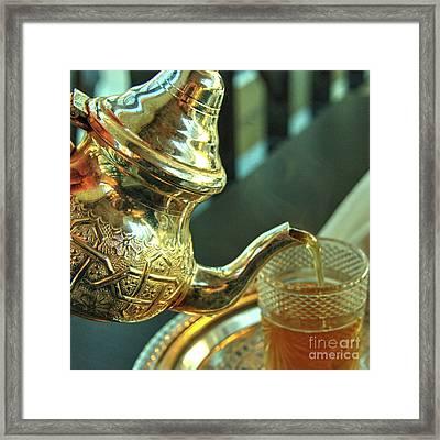 Moroccan Mint Tea  Framed Print