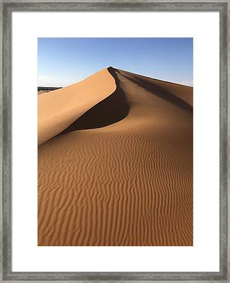 Moroccan Mountain Framed Print