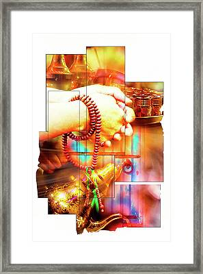 Moroccan Spirituality Theme Framed Print by Tom Gowanlock