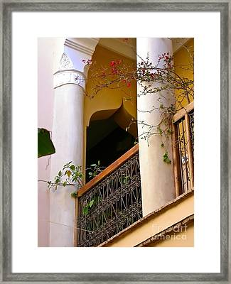 Moroccan Style Framed Print by Sophie Vigneault