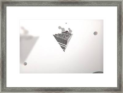 Morph // Escape Framed Print by Justin Ortiz