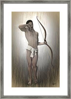 Morpheus Myth Framed Print