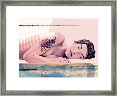 Morpheus Framed Print by Udo Linke