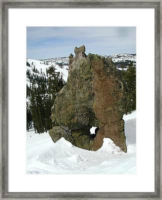 Morphrock Framed Print by Mark Stevenson