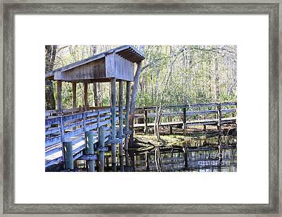 Morris Bridge Framed Print