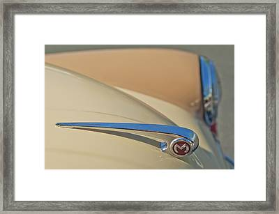 Morris Hood Ornament  Framed Print by Jill Reger