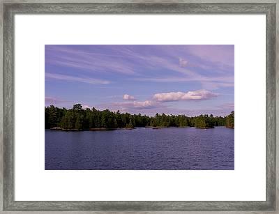Morris Island Framed Print