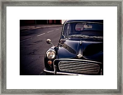 Morris Minor Framed Print by Justin Albrecht