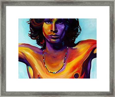 Morrison Framed Print by Vel Verrept