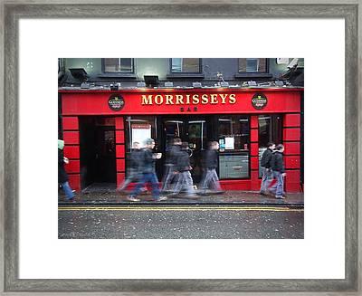 Morrissey Framed Print