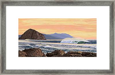 Morro Bay California Framed Print by Andrew Palmer