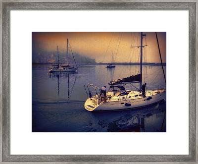 Framed Print featuring the photograph Morro Bay Dawn by Douglas MooreZart
