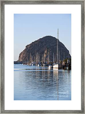 Morro Bay Sailboats Framed Print by Bill Brennan - Printscapes