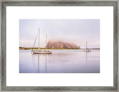 Morro Calm #3 Framed Print by Joseph S Giacalone