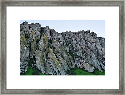 Morro Rock Framed Print