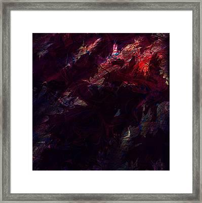 Mortal Wound Framed Print by Rachel Christine Nowicki