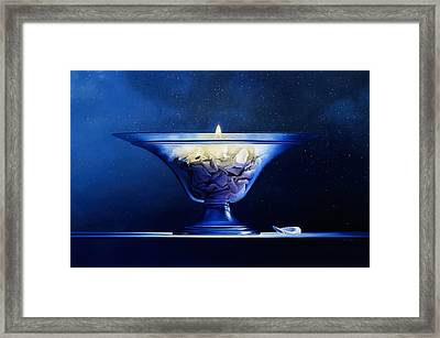 Mortality Framed Print by Mark Van crombrugge