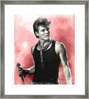Morten Harket - A-ha Framed Print