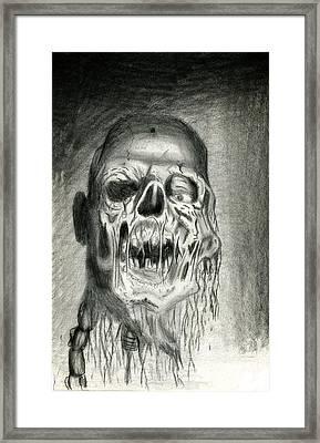 Morts Vivants Framed Print