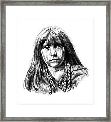 Mosa Framed Print