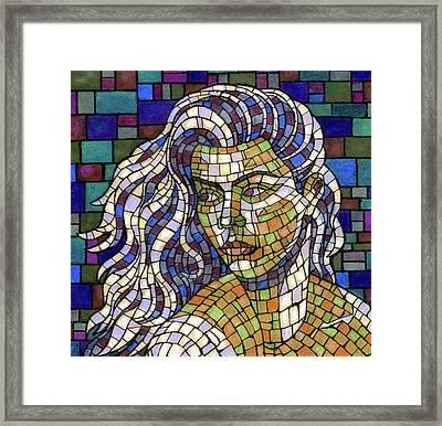 Mosaic Beauty Framed Print by Richard Votch