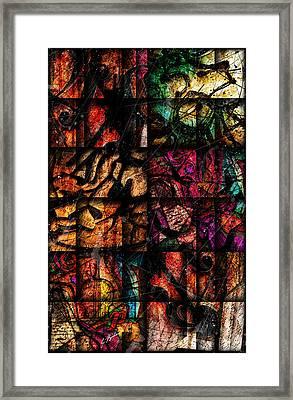 Mosaic Framed Print by Gary Bodnar
