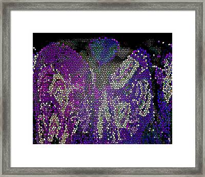 Mosaic Moon 4 Framed Print