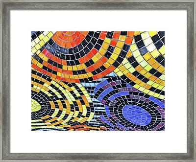 Mosaic No. 113-1 Framed Print