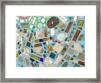 Mosaic No. 6-1 Framed Print