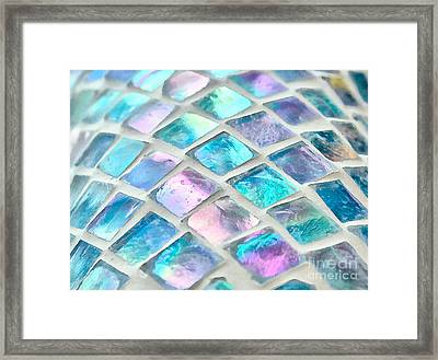 Mosaic Of Color Framed Print by Krissy Katsimbras