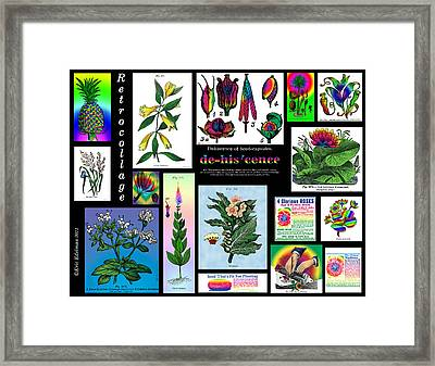 Mosaic Of Retrocollage II Framed Print