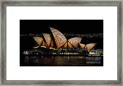 Mosaic Sails Framed Print by Bryan Freeman