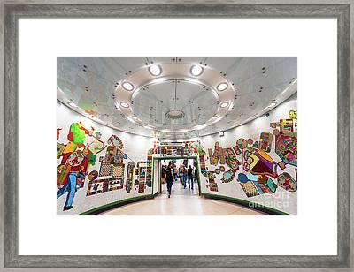 Mosaic Station Framed Print by Svetlana Sewell